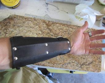 Leather Archer's Bracer