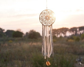 Dreamcatcher Wall hanging, Boho dream catcher mobile, free shipping