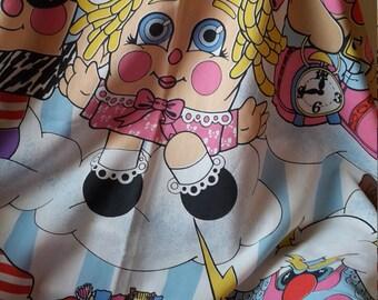 Pillow People,Vintage Sheet,Twin Size Sheet,People,Pillow,Vintage Pillow People
