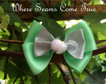 Tinker Bell Hair Bow
