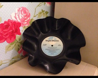 Hand crafted record bowls