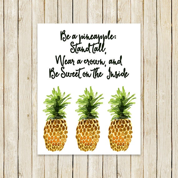 Image result for be a pineapple