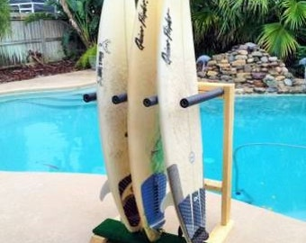 Grass Patch Surfboard Rack (Unstained)
