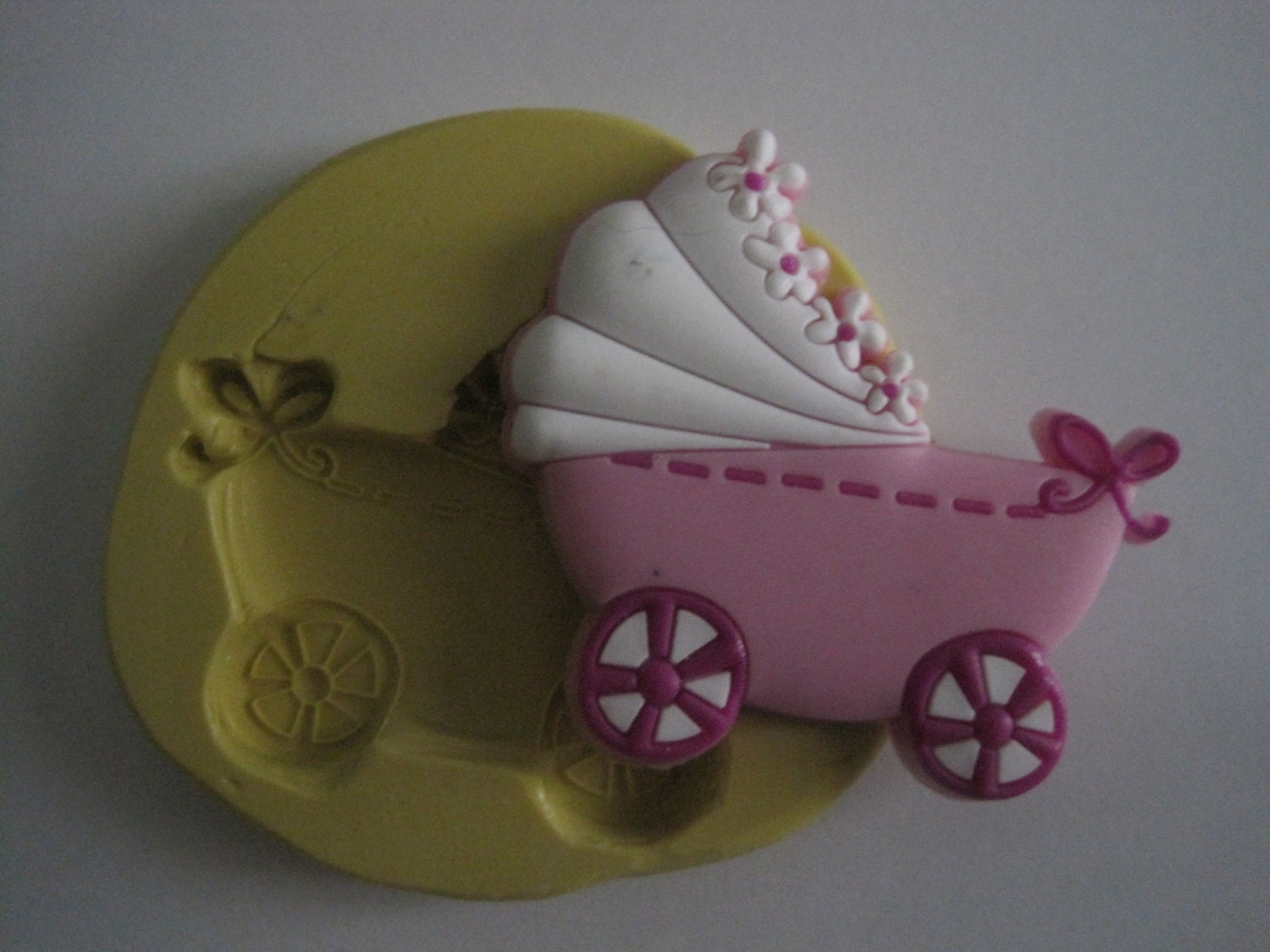 Cake Decorating Baby Carriage : Baby Carriage Silicone Mold Baby Buggy Mold Silicone Molds