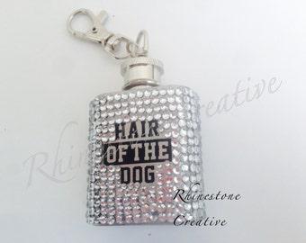 Hip flask hair of the dog crystallised 1oz