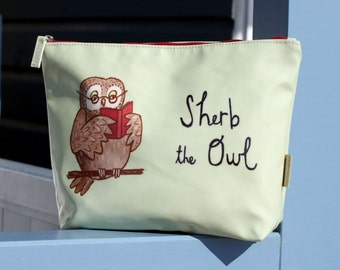 Sherb the Oilcloth Wash Bag
