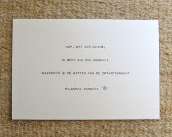 card (cliché)