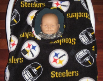 steelers seat cover etsy. Black Bedroom Furniture Sets. Home Design Ideas