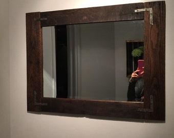 Rustic Barn Mirror