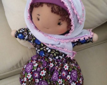 Cute doll with authentic Turkish dresses