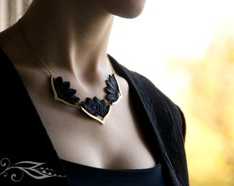 Rising Sun - top 40-45 cm necklace