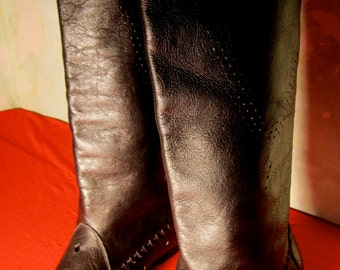 vintage boots, sizes 36/39, made in italy