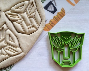 Cookie Cutter Transformers autobot cookiecutter cookies any shape any size
