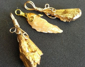 Gold Angel Aura Pendant