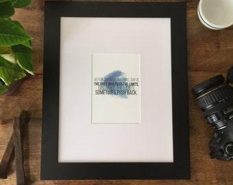 Chasing Mavericks Print