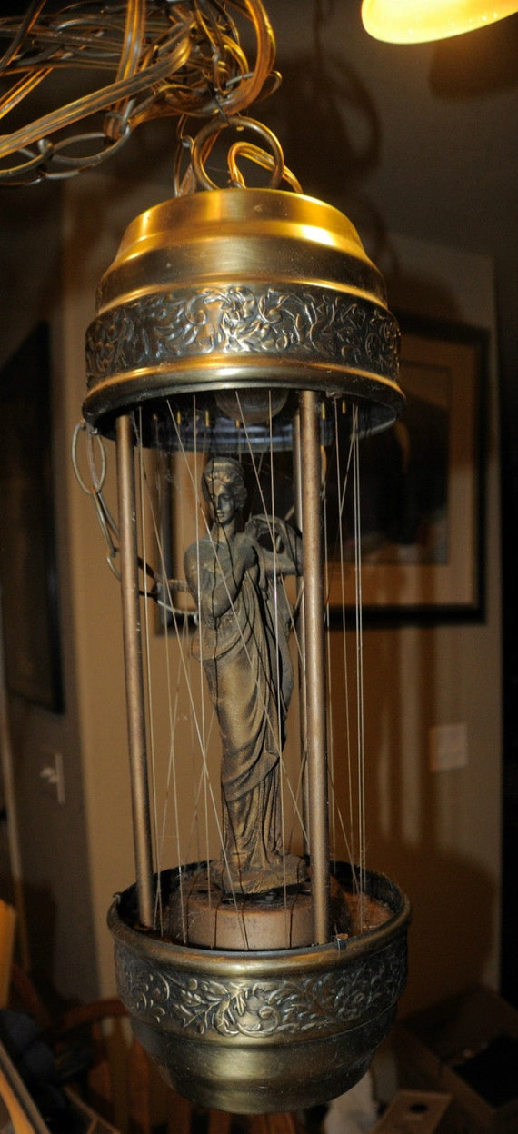 Vintage Goddess Oil Drip Rain Lamp Hanging