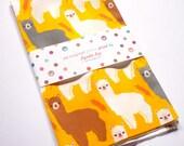 The Alpacas III Fabric FAT QUARTER