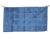 TRIPLE hand dyed-Indigo King Size Pillow Case
