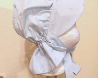 Baby Girls Bonnet, Sun Hat, Size 6 to 12 Months