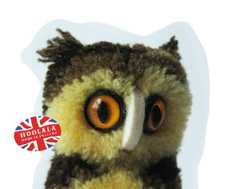 Beautiful Vintage Steiff Owl Made In Germany from Hoolala Vintage
