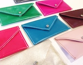 CLEARANCE Leather card case - Many colors