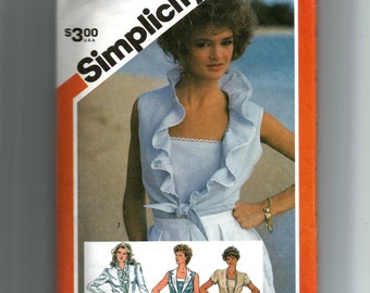 Simplicity Misses' Pullover Camisole and Unlined Jacket Pattern 5996
