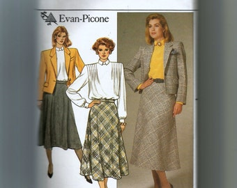 Butterick Misses' Jacket, Skirt, and Blouse Pattern 3478