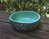 Mod Spot Porcelain Altered Bowl