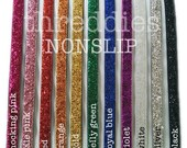 non slip headbands wholesale // adjustable elastic back // choose from 27 colors and metallics // wholesale nonslip headbands