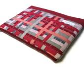 "Toshiba Kirabook Sleeve Lenovo LaVie Z Laptop Case 11.6""-13"" MacBook Air Pro Cover - Red Rulers"