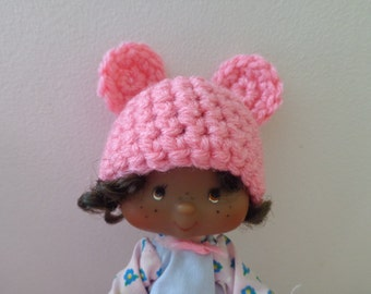 PERFECT PINK bear ears for strawberry shortcake
