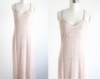 Vintage Beaded Art Deco Dress