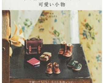 Leather Tiny Craft - Japanese Craft Book