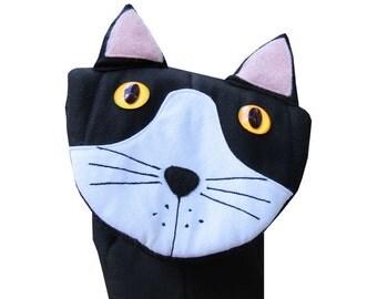 Cat Oven Mitt - Character Puppet