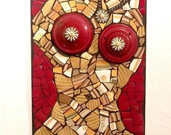 Natural Woman Mosaic Art