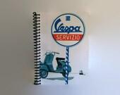 Vespa - Spiral Notebook - 4x6in