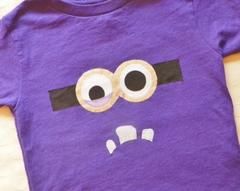 Purple Minion Shirt Toddler Youth Adult