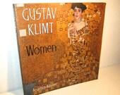 Gustav Klimt Women - Art Book - by Angelica Baumer - Vintage 80's - Gorgeous Color Illustrations