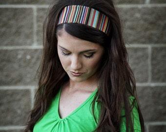 Fabric Headbands, Headbands for Women, Head Bands for Women, Striped Headband, Striped Hair Band, Fashion Head Band, Fashion Hairband Ladies