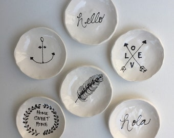 Handmade Ring Dishes