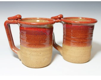 Reddish Purple 20-24oz mug, Handmade mug, beer stein, for her, for him, Ready to ship