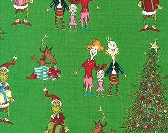 Dr. Seuss How The Grinch Stole Christmas 5,  Whoville on Green, yard