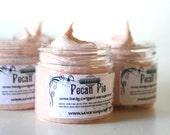 Whipped Soap Scrub Pecan Pie 2 oz Mini Creme Fraiche Trial Sample Size
