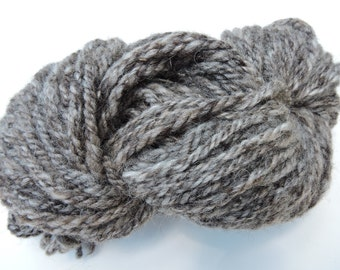 2 Ply Rug Hooking Knitting Yarn in Natural Mohair and Shetland Wool 15-8-9