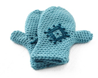 PDF Crochet Pattern for Snowflake Diamond Mittens - 2-10 years - Permission To Sell Finished Items