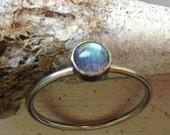 Labradorite Stacking Ring