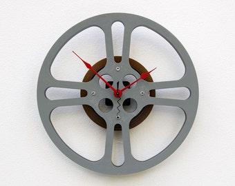 Recycled 16MM Movie Reel Clock