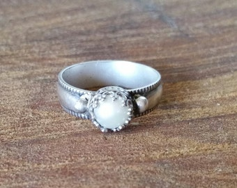 Purity Ring Sterling Silver