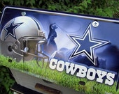 NFL Dallas Cowboys License Plate  Football  Birdhouse  Fully Functional Handcrafted Wooden Birdhouses Unique Bird House