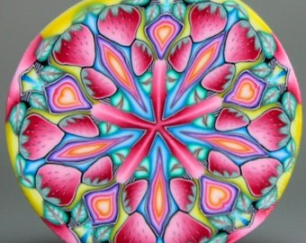 Polymer Clay Kaleidoscope Cane -'Once Upon' (41D)